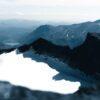 Utsikt fra toppen av Surtningssue, fotokunst veggbilde / plakat av Tor Arne Hotvedt