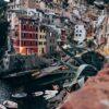 Byen Riomaggiore i Cinque Terre i Italia, fotokunst veggbilde / plakat av Tor Arne Hotvedt