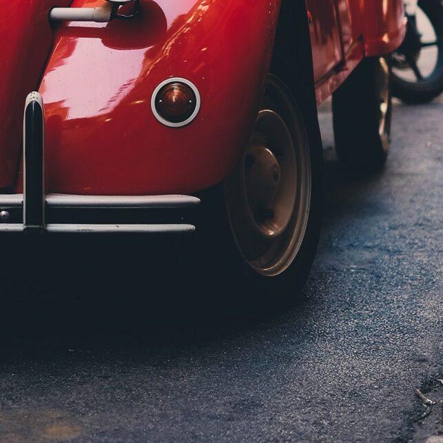 Klassisk bil I, fotokunst veggbilde / plakat av Tor Arne Hotvedt