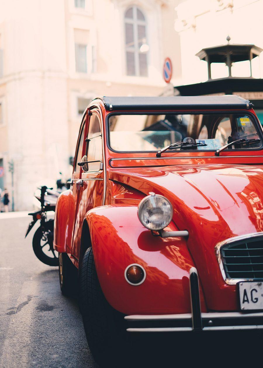 Klassisk bil II av Tor Arne Hotvedt