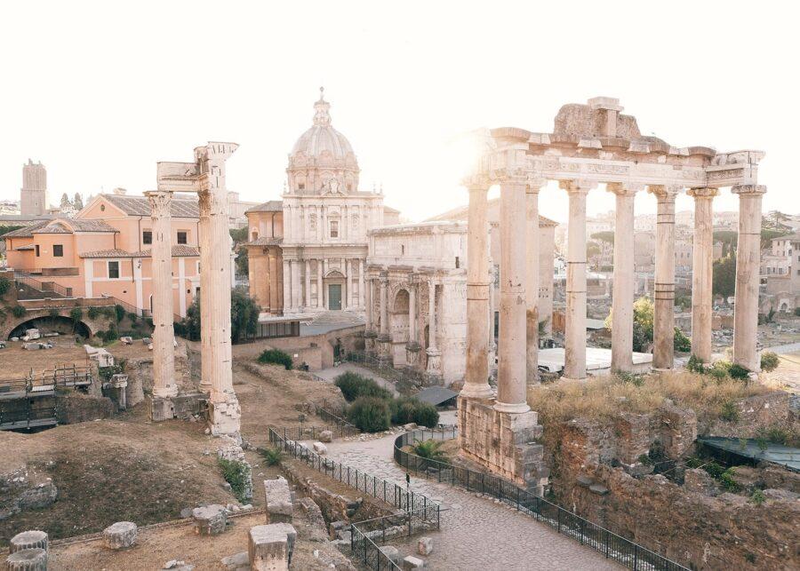 Det Romerske Forum av Tor Arne Hotvedt