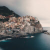 Byen Manarola i Cinque Terre i Italia, fotokunst veggbilde / plakat av Tor Arne Hotvedt