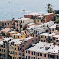 Byen Vernazza i Cinque-Terre, fotokunst veggbilde / plakat av Tor Arne Hotvedt