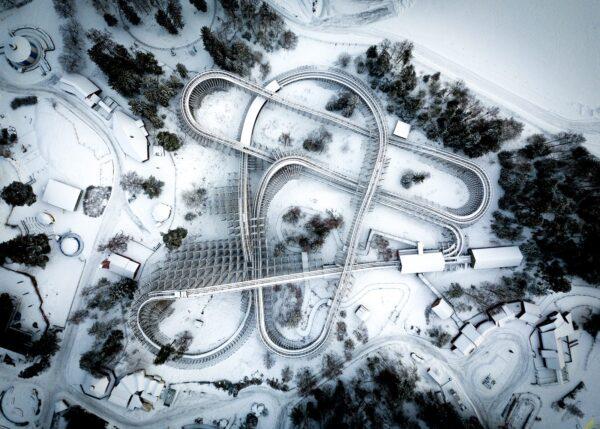 ThunderCoaster, fotokunst veggbilde / plakat av Tor Arne Hotvedt