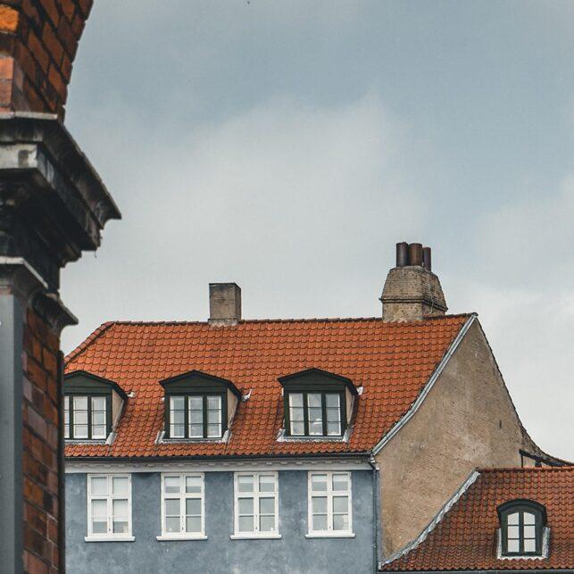 Brygga i Nyhavn i København, fotokunst veggbilde / plakat av Tor Arne Hotvedt