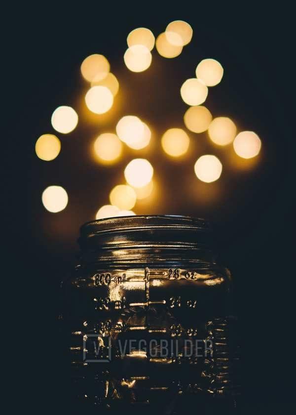 Lys i glass av Tor Arne Hotvedt