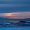 Morgensol ved Varangerfjorden av Terje Kolaas