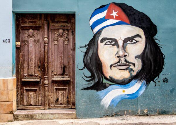 Gatekunst - Che Guevara, fotokunst veggbilde / plakat av Terje Kolaas