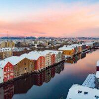 Trondheimsidyll II, fotokunst veggbilde / plakat av Terje Kolaas