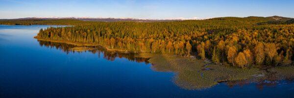Høst i fjellet, fotokunst veggbilde / plakat av Terje Kolaas