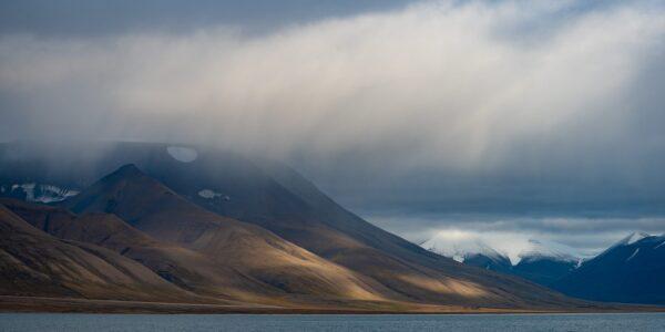 Svalbardlandskap, fotokunst veggbilde / plakat av Terje Kolaas