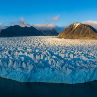 Lilliehöökbreen på Svalbard, fotokunst veggbilde / plakat av Terje Kolaas