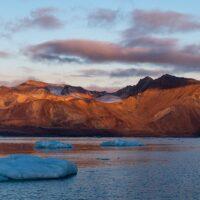 Svalbardlandskap I, fotokunst veggbilde / plakat av Terje Kolaas