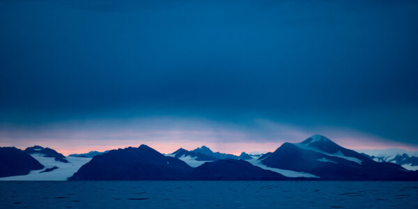 Svalbardlandskap III, fotokunst veggbilde / plakat av Terje Kolaas