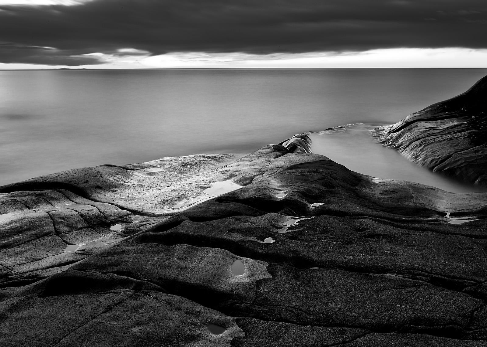 Soloppgang over Arendal av Tom Erik Smedal