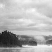 Lite fiskevann, fotokunst veggbilde / plakat av Tom Erik Smedal