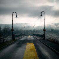 Mellom elementene, fotokunst veggbilde / plakat av Tom Erik Smedal
