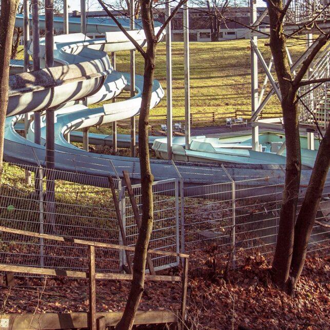 Frognerbadet, fotokunst veggbilde / plakat av Thor Håkon Ulstad