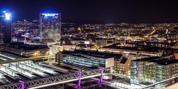 Oslo by Night av Thor Håkon Ulstad