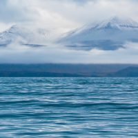 Fjell og hav på Svalbard, fotokunst veggbilde / plakat av Thor Håkon Ulstad