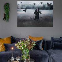 Who I am, fotokunst veggbilde / plakat av Ann-Kristin Enderud