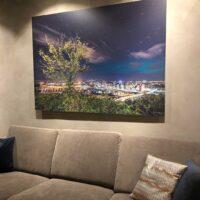Nordlys over Oslo -Limited Edition, fotokunst veggbilde / plakat av Gunnar Kopperud