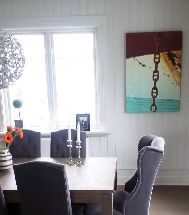Ankerkjetting i Arktis, fotokunst veggbilde / plakat av Peder Aaserud Eikeland