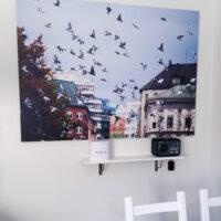 Duenes flukt, fotokunst veggbilde / plakat av Thor Håkon Ulstad