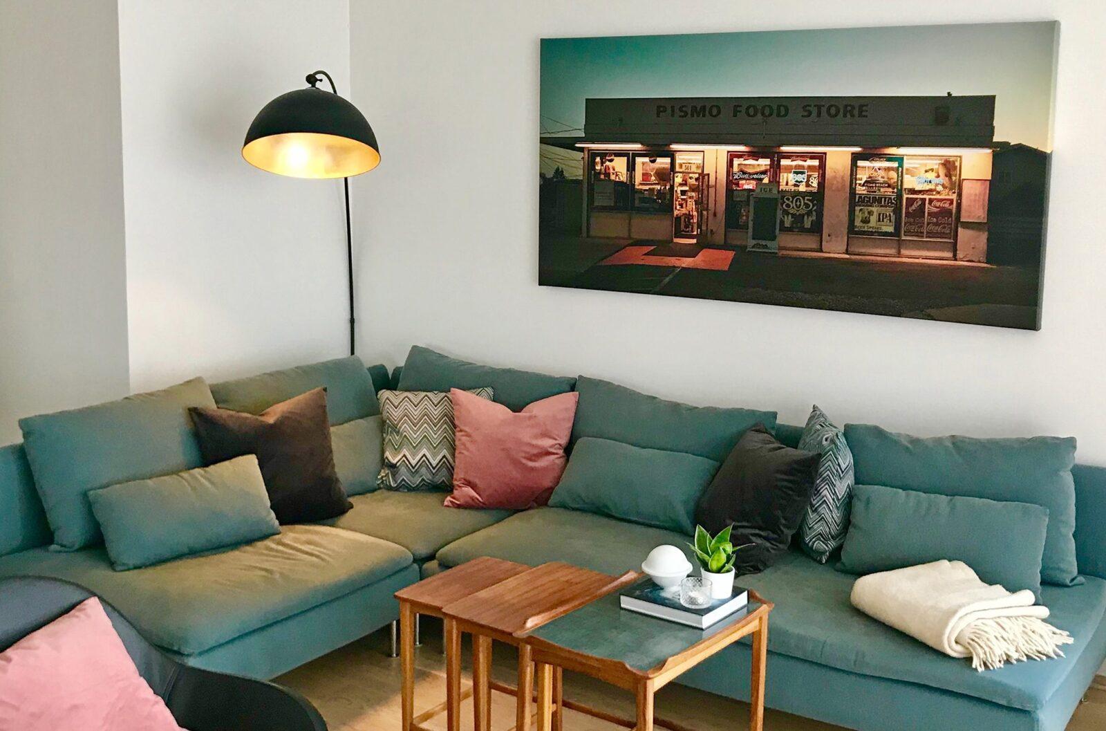 Pismo food store, fotokunst veggbilde / plakat av Peder Aaserud Eikeland