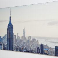 New York skyline morning glory, fotokunst veggbilde / plakat av Peder Aaserud Eikeland