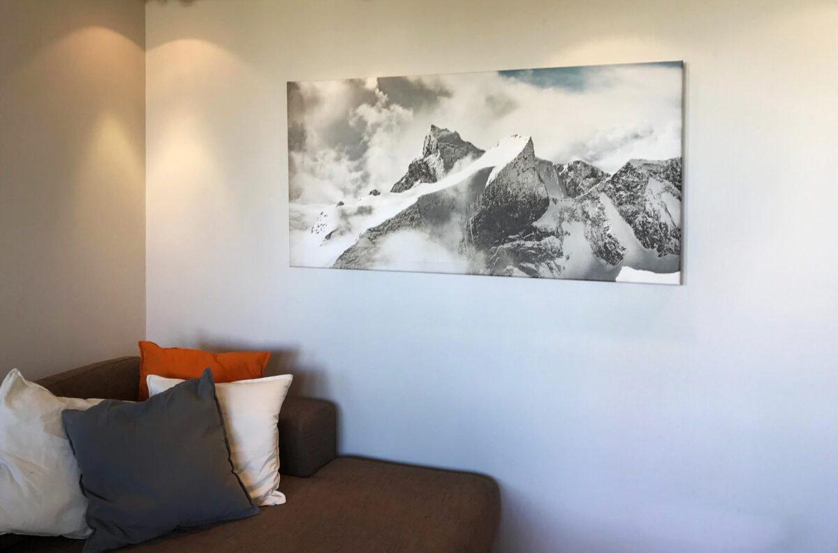 Utsikt i Hurrungane, fotokunst veggbilde / plakat av Bård Basberg