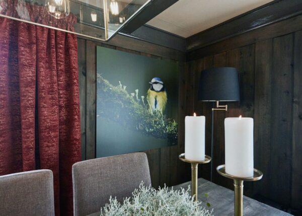 Portrett av Mikkel Rev, fotokunst veggbilde / plakat av Veggbilder